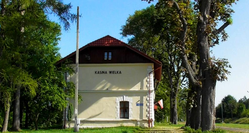 Filmowa stacja w Kasinie Wielkiej