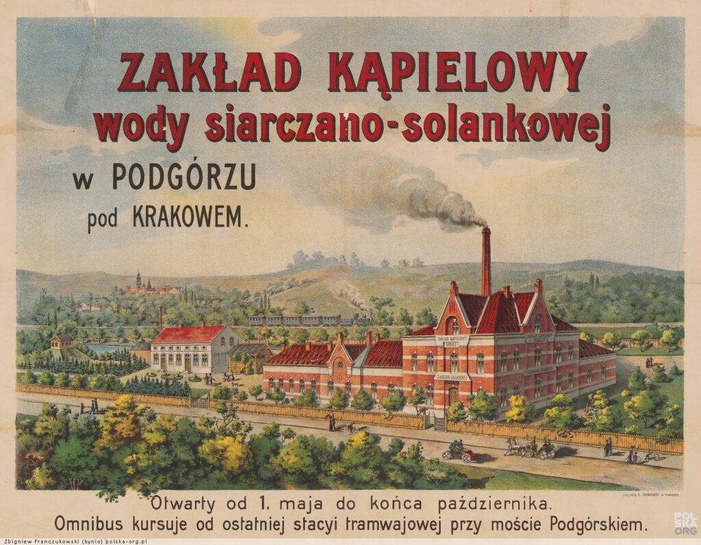 Kraków uzdrowisko Mateczny