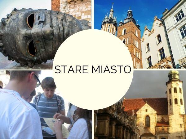 gra miejska w Krakowie